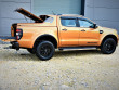 Ford Ranger double cab with Alpha SC-Z tonneau