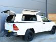Toyota Hulix 2016 Double Cab Gullwing Hardtop Open Doors
