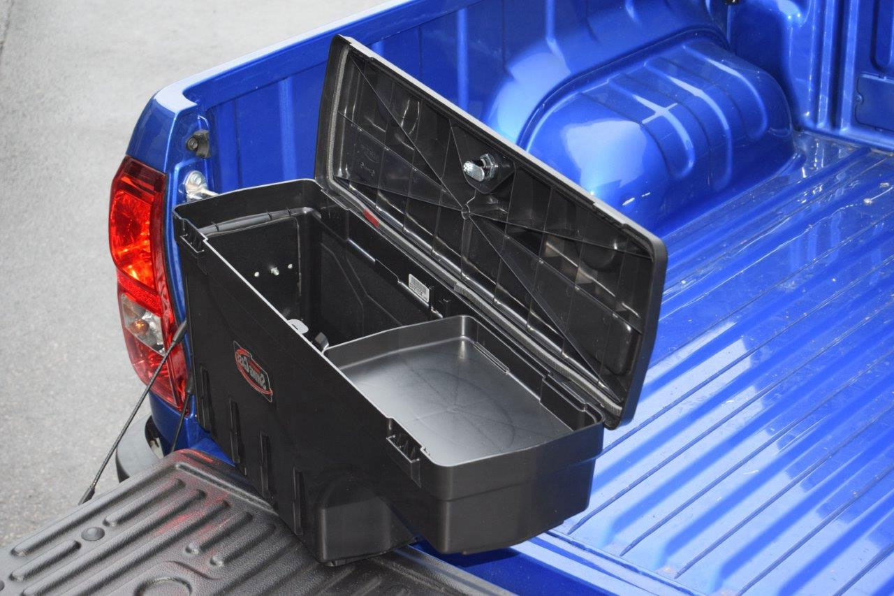 Isuzu D Max 2012 On Swing Case Tool Storage Box Left Side Ebay Dmax Fuse