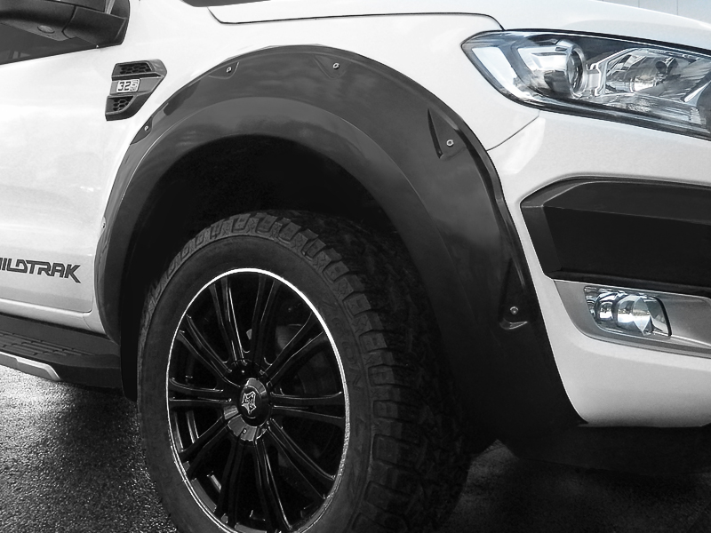 Ford Ranger 2016 On X Treme Wheel Arches Flares Painted