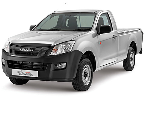 Isuzu D-Max 2012-2016 Single Cab