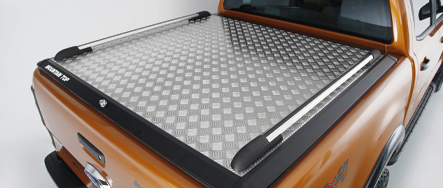 Mountain Top Chequer Plate tonneau cover