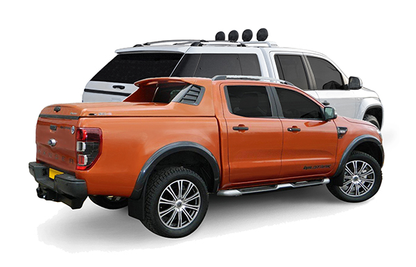 Alpha trucktop canopy fitted to a Ford Ranger