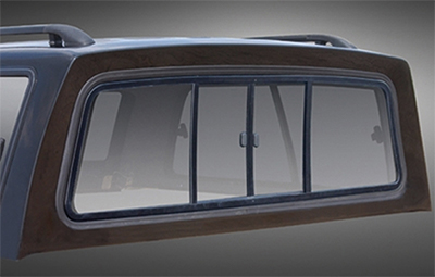 Alpha GTE optional sliding bulkhead window