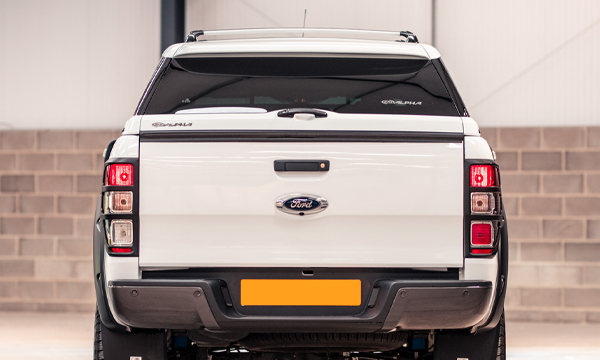 Alpha Type E Canopy Colour Matched To Nissan Navara Orange