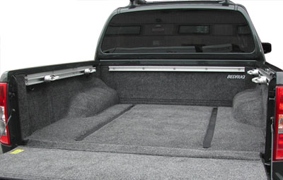 Ultra-tough 100% polypropylene Bed Rug liner