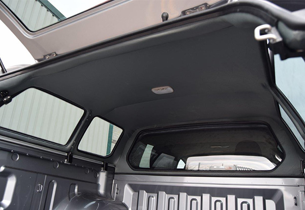 Alpha GSR Canopy Interior on a Toyota Hilux