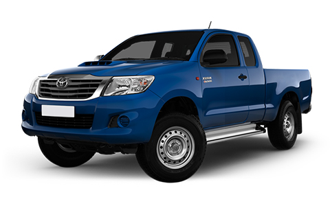 Toyota Hilux Extra Cab accessories for models from 2012 to 2016
