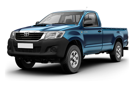 Toyota Hilux Single Cab accessories for models from 2012 to 2016
