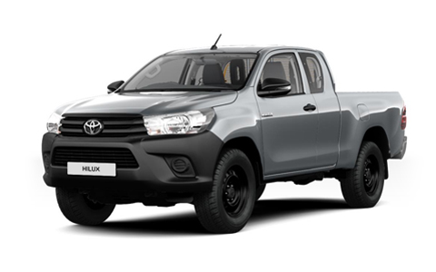 Toyota Hilux Extra Cab accessories for models from 2016 on