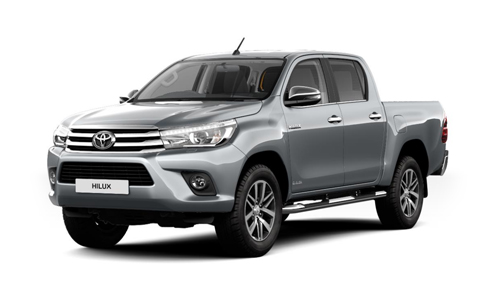 Toyota Hilux Double Cab accessories for models from 2016 on