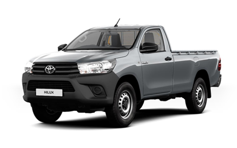 Toyota Hilux Single Cab accessories for models from 2016 on