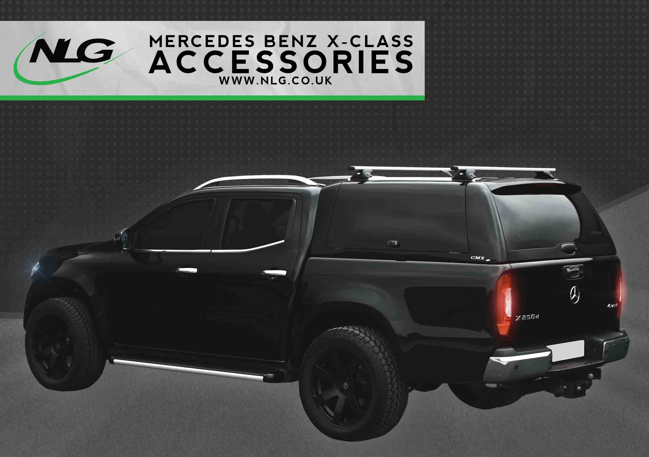 Mercedes-Benz X-Class Accessories Brochure Download