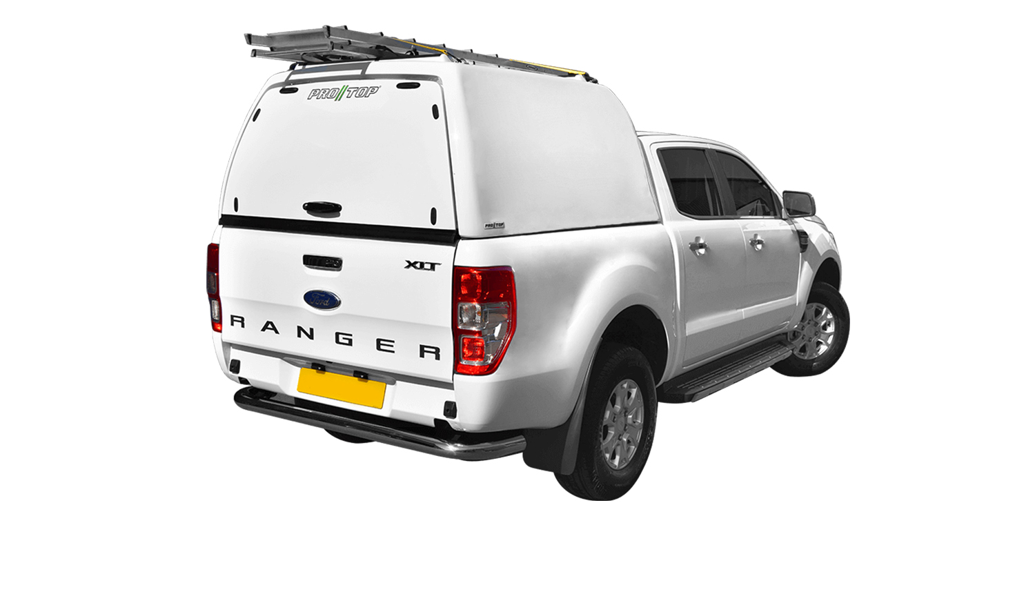 Pro//Top High roof tradesman on a Ford Ranger