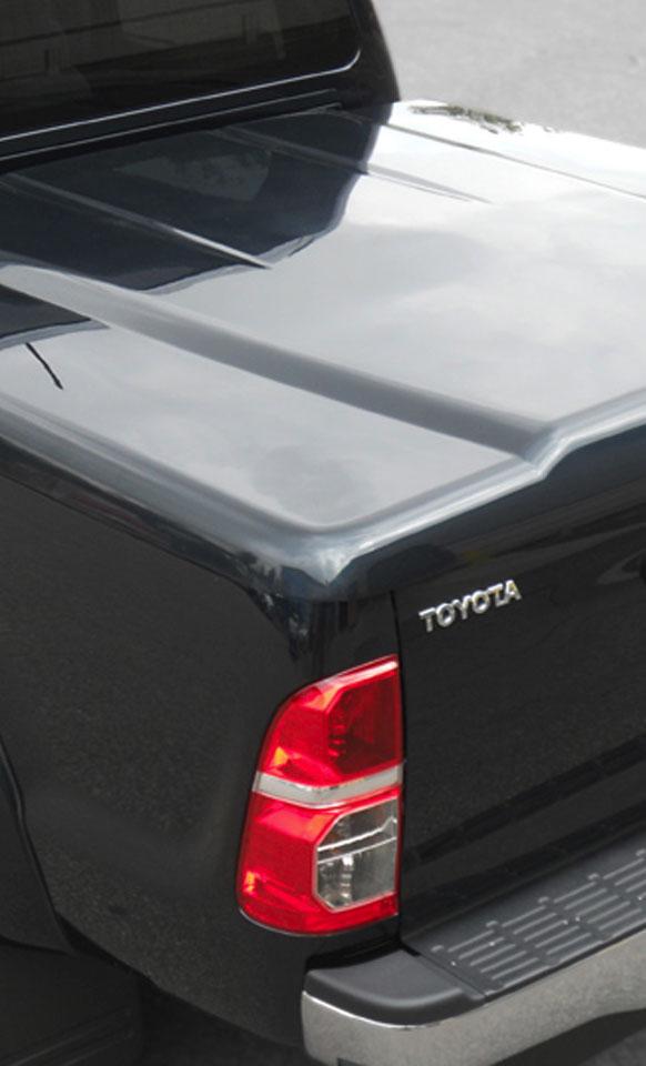 Proform 1 Piece sports lid on a Toyota