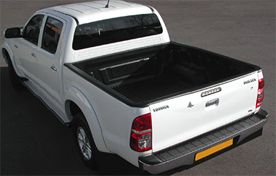 Proform over rail bed liner on a Toyota Hilux double cab pickup