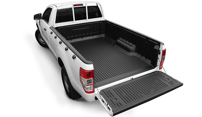 Proform Over rail bed liner on a single cab pickup truck