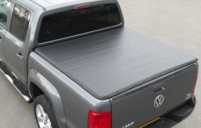 VW Amarok with load bed cover