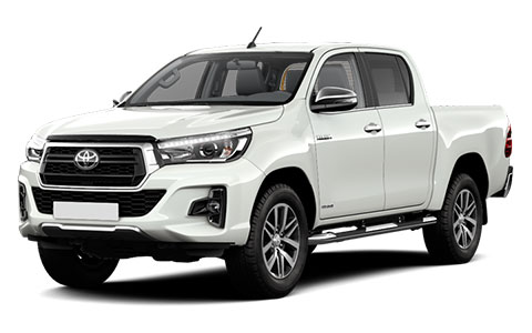 Toyota Hilux Double Cab Invincible X accessories for models from 2018 on