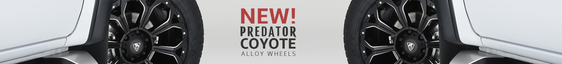 Brand New - Predator Coyote Alloy Wheels